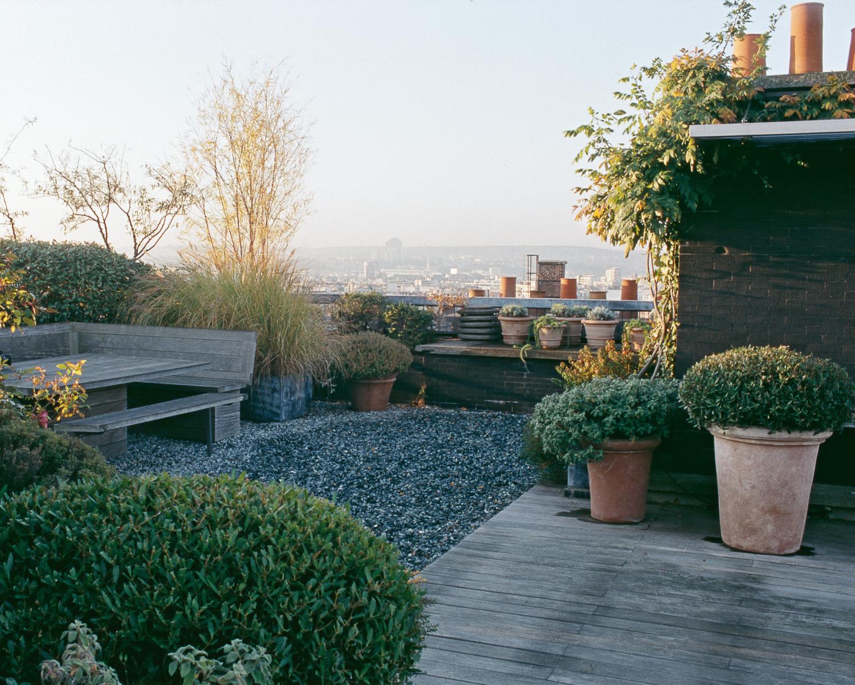 Paysage urbain jardin camille muller paysagiste for Jardin urbain contemporain